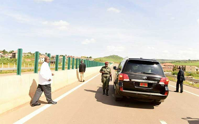 Car stolen from Museveni, recovered in Kenya with S.Sudan Plates