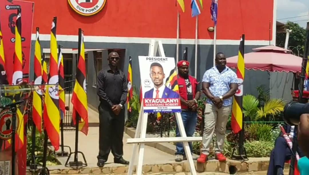 Do not deface, NUP warns police as they launch Bobi Wine official campaign  poster - Nile Post